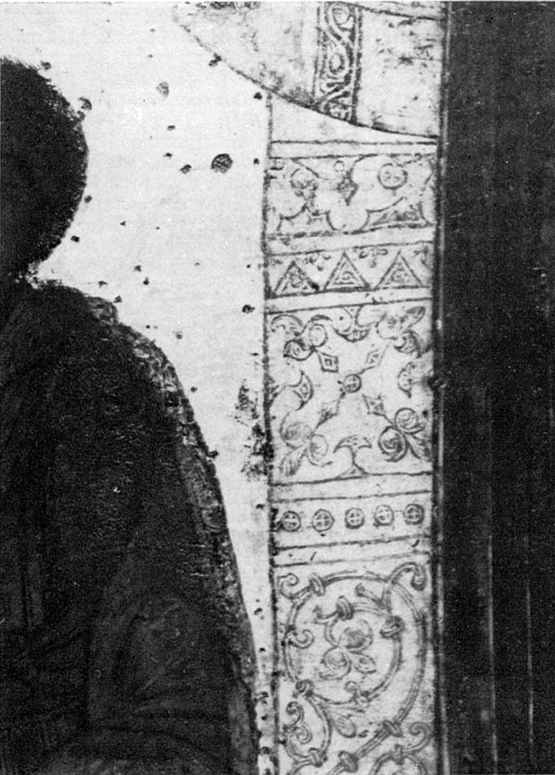 Орнамент престола Богоматери