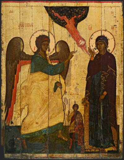 The Annunciation with Theodor Tiron