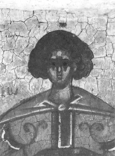 Полуфигура Георгия