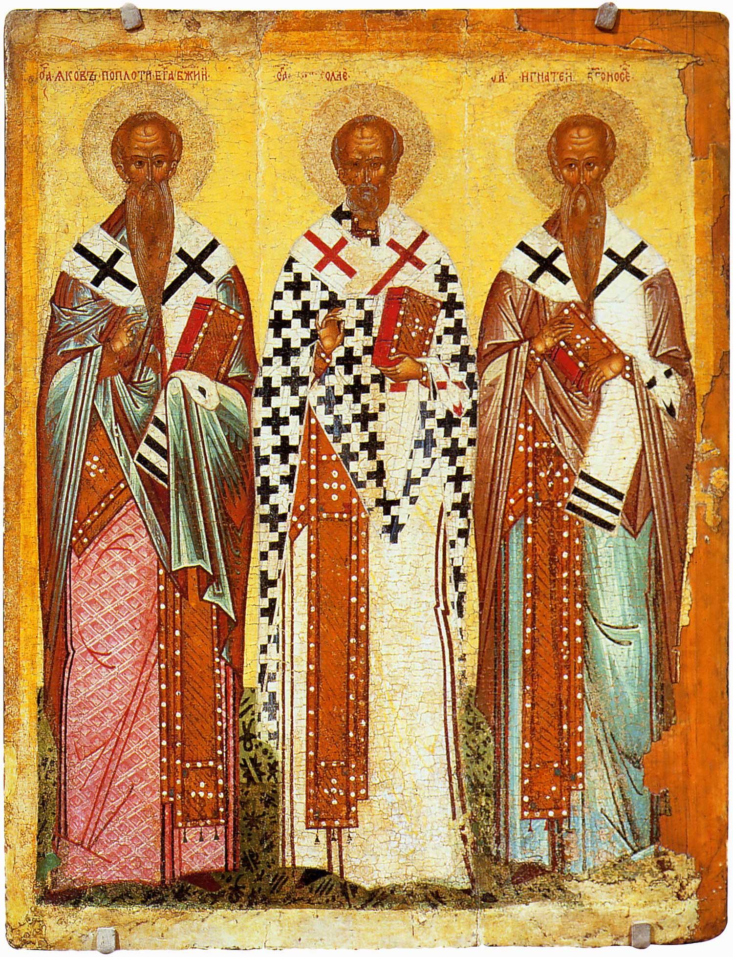 Иаков Иерусалимский (брат Божий), Никола и Игнатий Богоносец