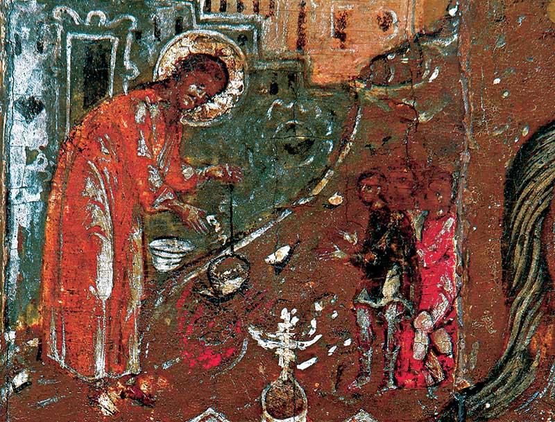 Св. Леонтий научает детей