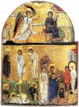 The Annunciation. The Transfiguration. The Raising of Lazarus