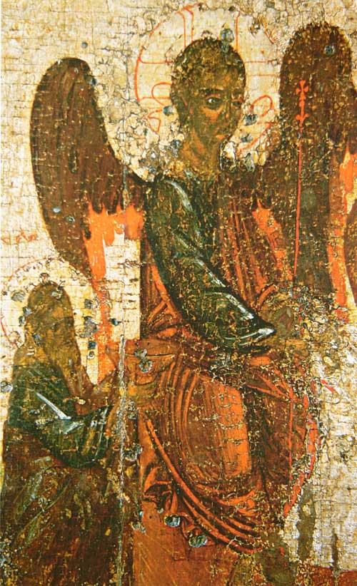 Авраам и левый ангел