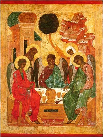 Гостеприимство Авраама (т.н. «Ветхозаветная» Троица)