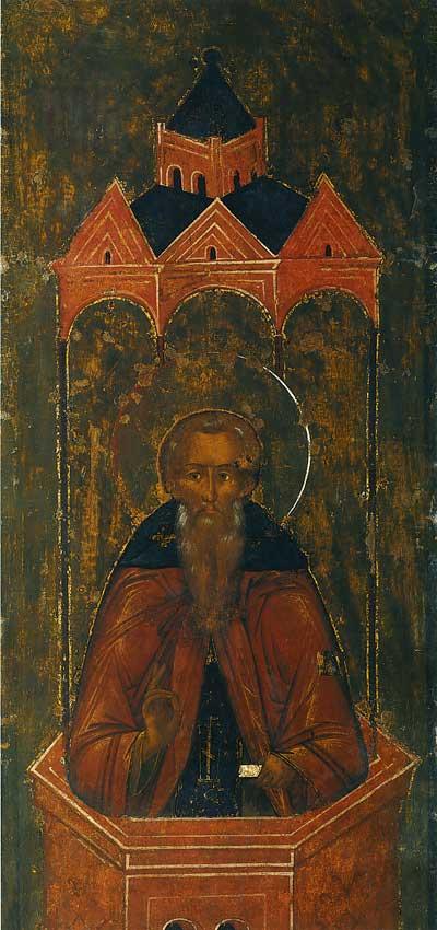 Даниил Столпник под сенью