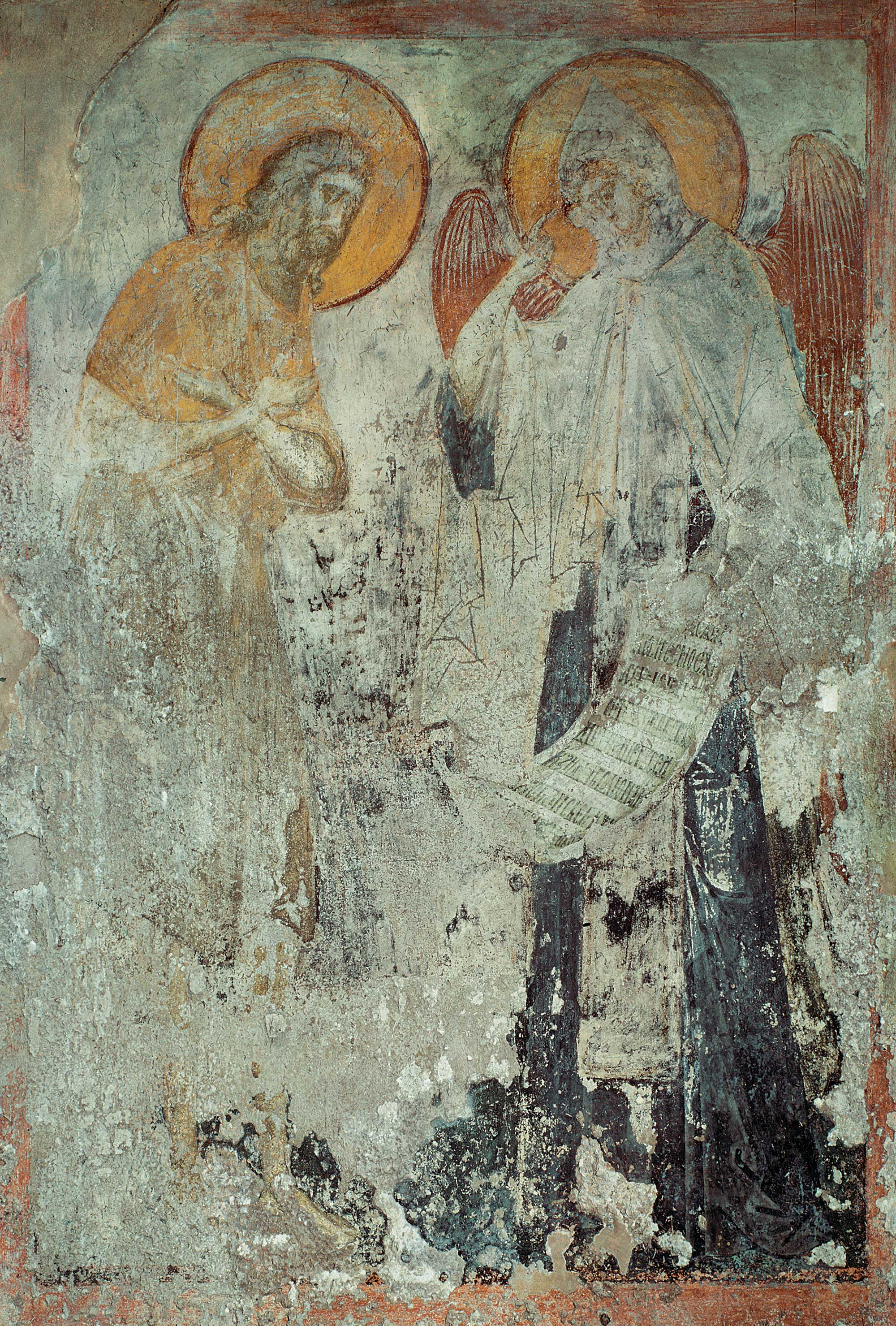 Angel Delivers the Monastic Rule to St. Pachomius the Great
