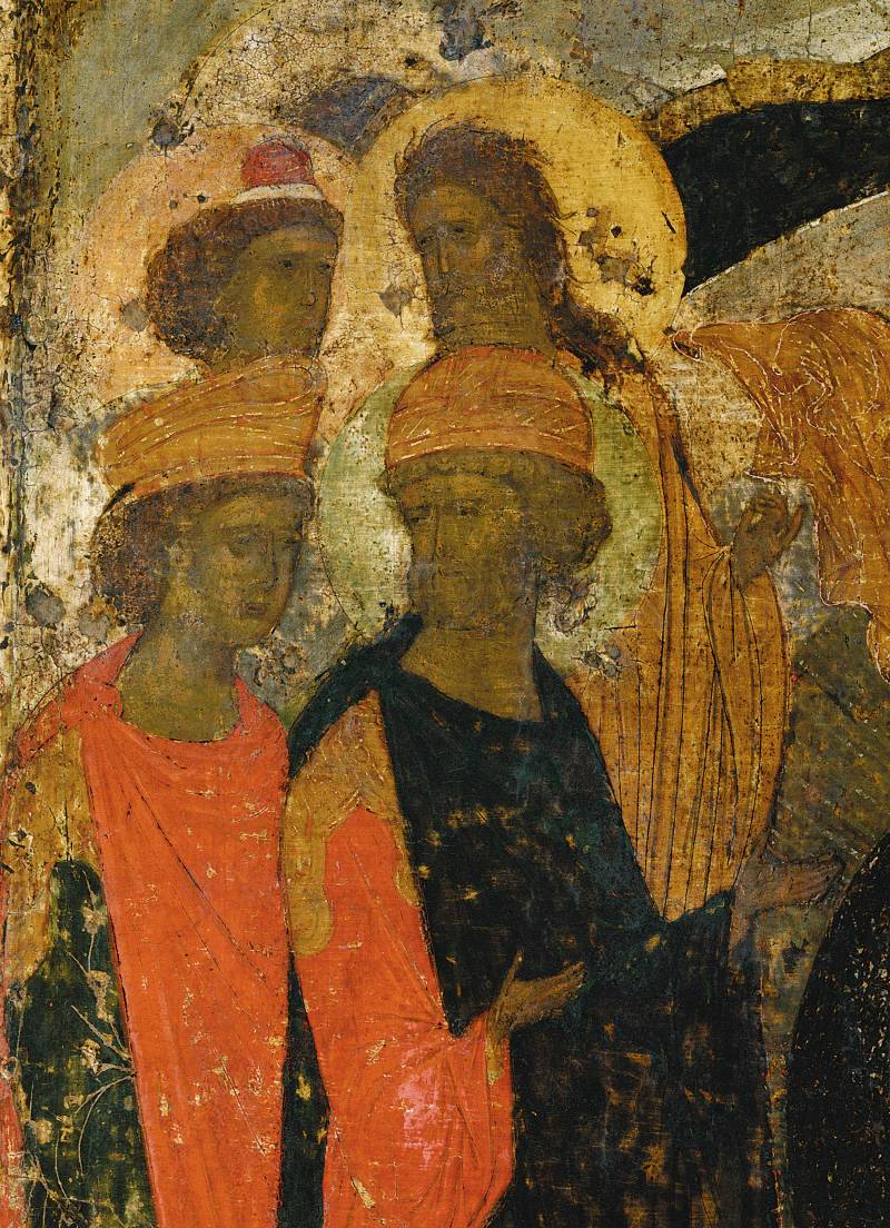 Иоанн Предтеча, пророки Даниил, Давид и Соломон