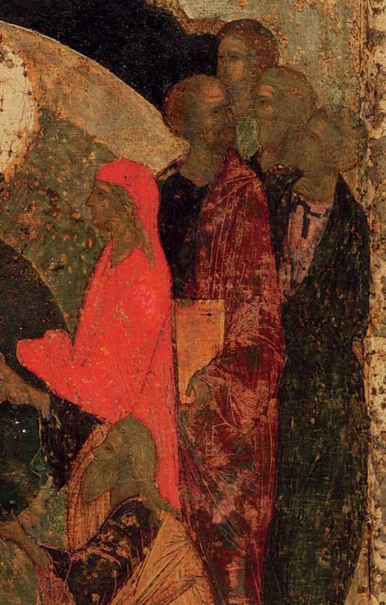Адам, Ева и группа праведников