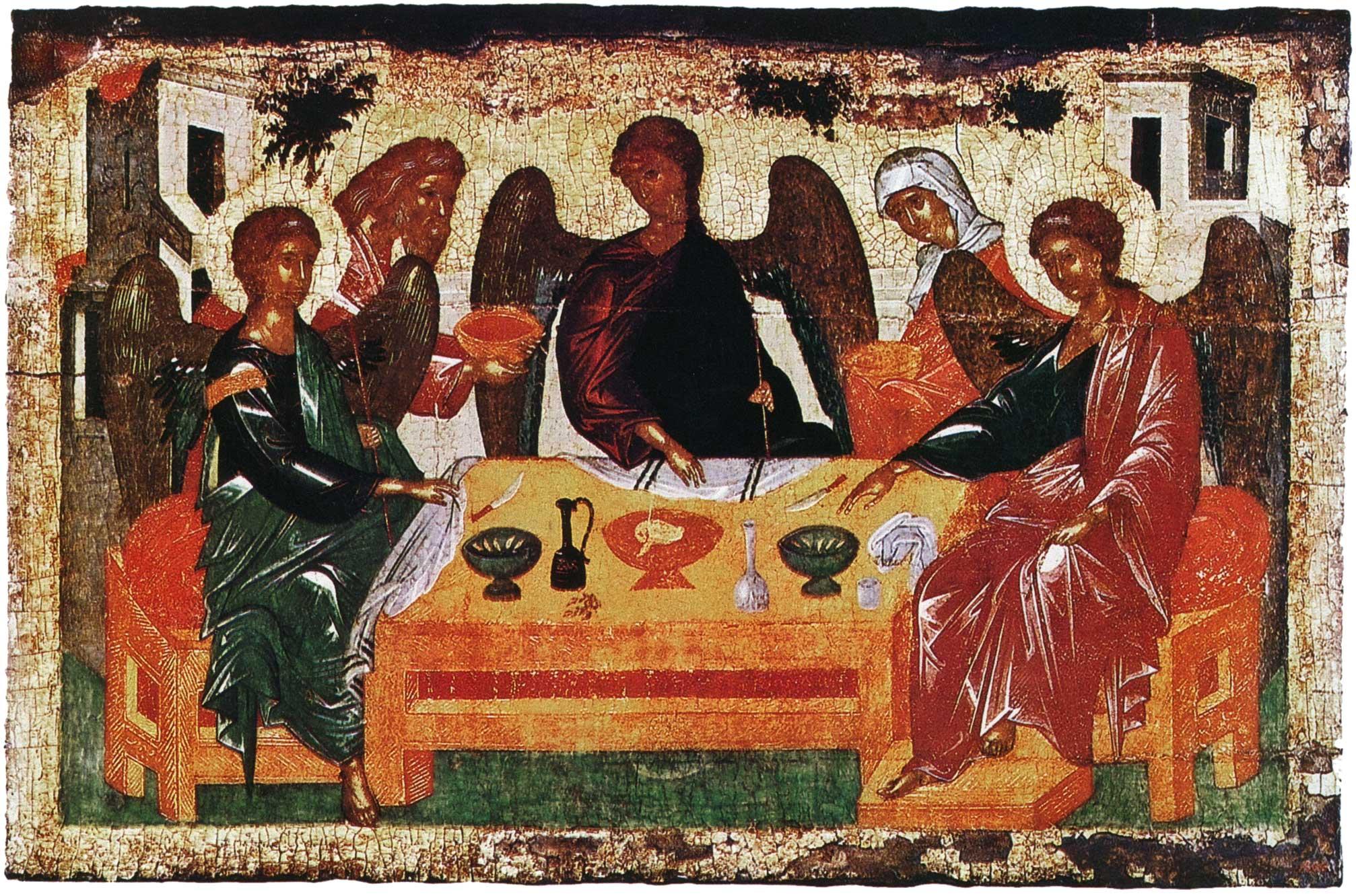 Троица (Гостеприимство Авраама)
