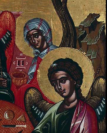 Сарра и правый ангел