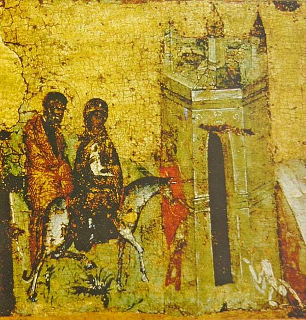 Икос VI: «Возсиявый во Египте просвещение истины, отгнал еси лжи тьму...»