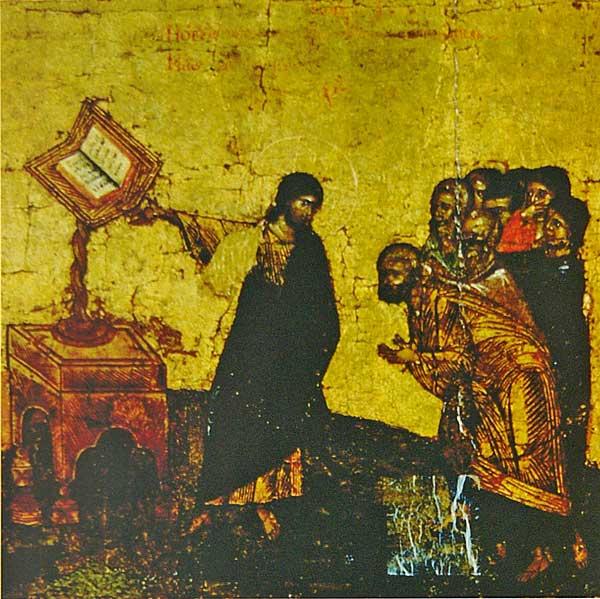 Икос VII: «Новую показа тварь, явлься Зиждитель нам от Него бывшим...»
