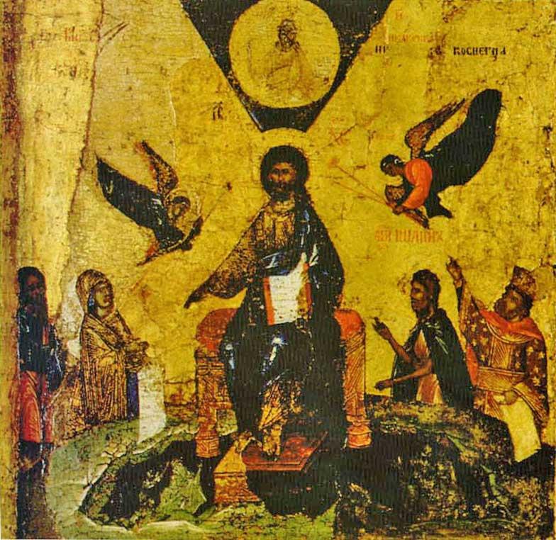 Икос VIII: «Весь бе в нижних и вышних...»