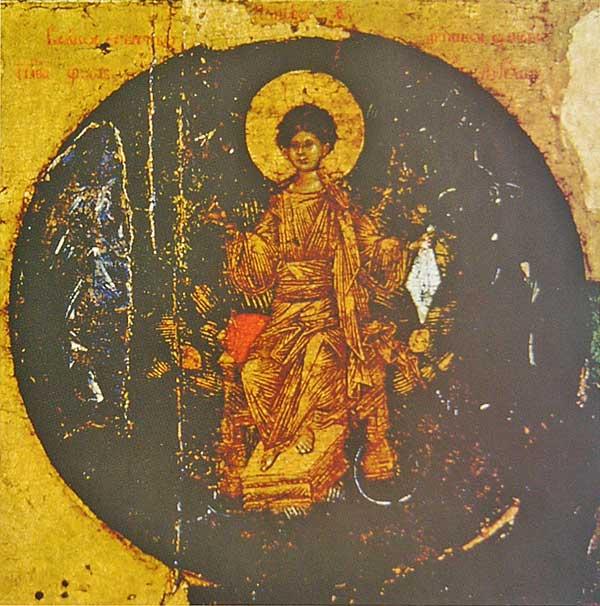 Кондак IX: «Всякое естество ангельское удивися...»