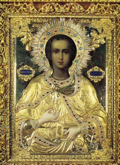 Святой великомученик Пантелеимон