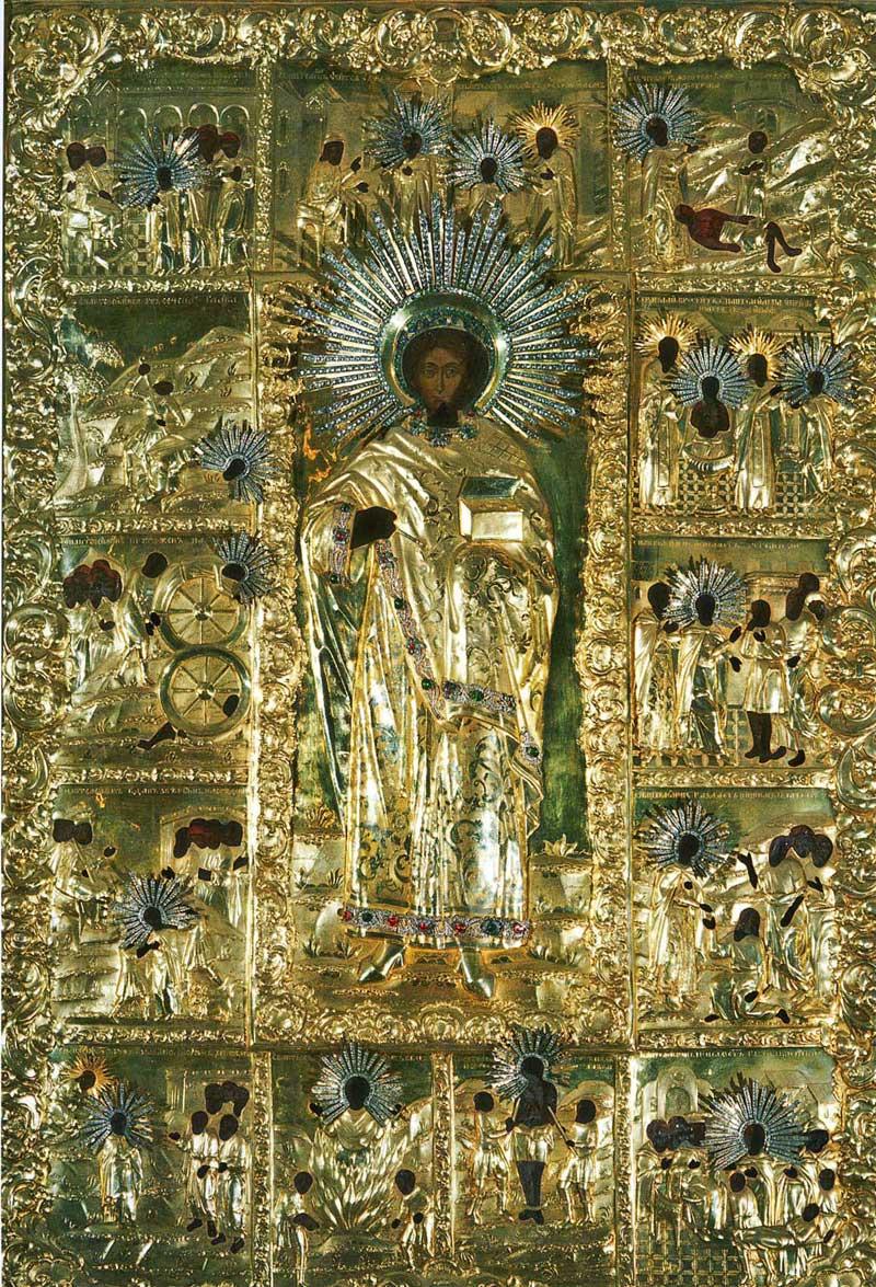 Святой великомученик Пантелеимон с житием