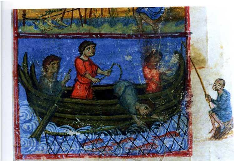 Чудесный лов рыбы апостолами -  [],