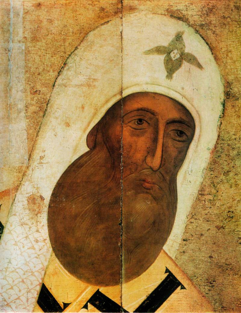 Лик митрополита Петра