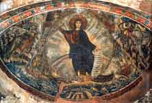 Христос — источник воды живой (?) / Видение Иезекииля (?)