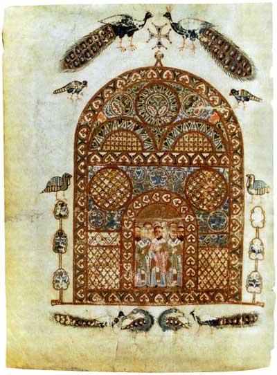 Отцы Церкви - Изборник Святослава [Син. 1043 (Син.31-д)], л. 128 об.