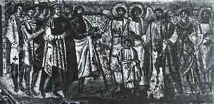 Встреча Младенца Христа дукой Афродисием
