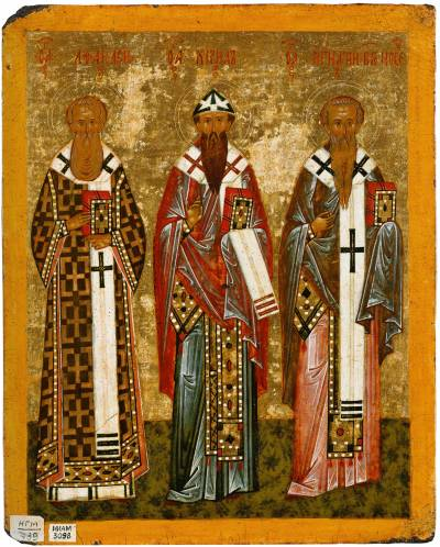 Афанасий Александрийский, Кирилл Александрийский, Игнатий Богоносец