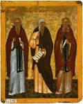 Иоанн Лествичник, Иоанн Дамаскин, Арсений Великий