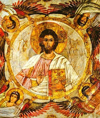 Христос Вседержитель с архангелами