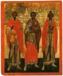 Святые бессребреники Косма и Дамиан, мученик Иаков Перский