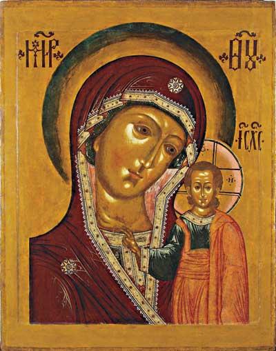 Muttergottes von Kazan