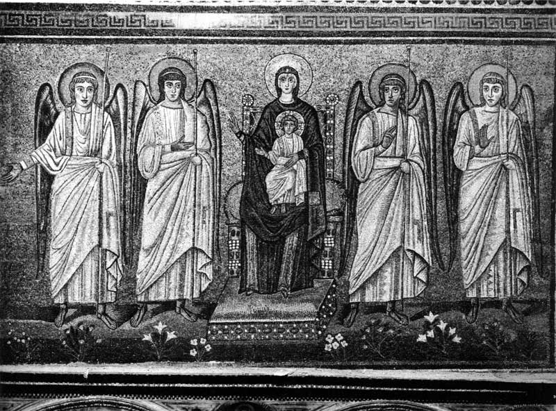 Богоматерь с Младенцем и ангелы