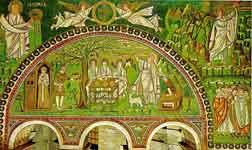 История Авраама, пророк Иеремия и Моисей на горе Синай