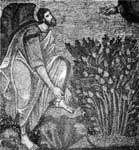 Моисей, снимающий сандалии