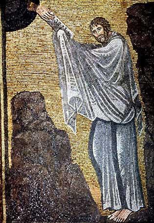 Моисей получает законы