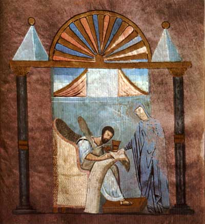 St Mark the Evangelist - Rossano Gospels [], fol. 121