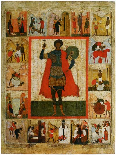 St George with Scenes from His Life
