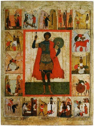 Великомученик Георгий, с житием