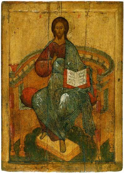 Христос Вседержитель на престоле