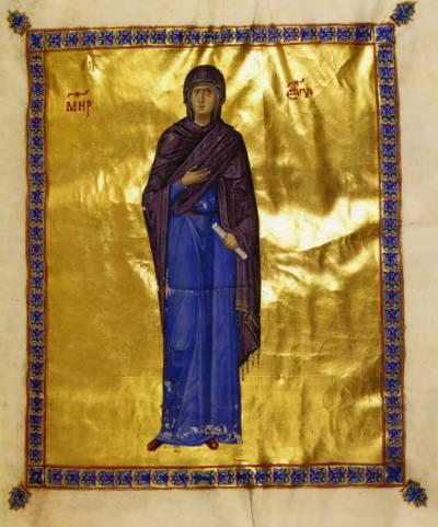 Богоматерь - Евангелие [cod.204], л. 2