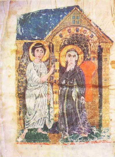 The Annunciation - Echmiadzin Gospel [№ 2374],