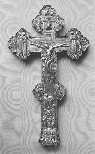 Крест напрестольный (мощевик)
