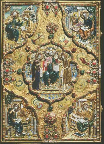 Оклад Евангелия