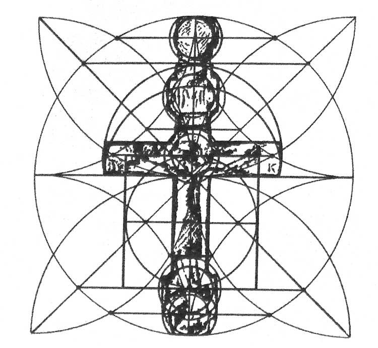 Геометрический анализ форм креста