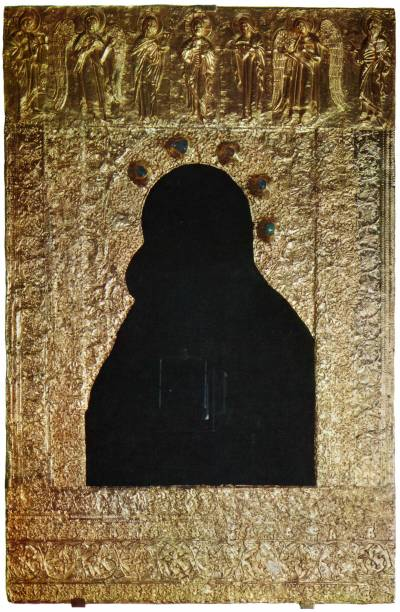 Оклад иконы «Богоматерь Владимирская»