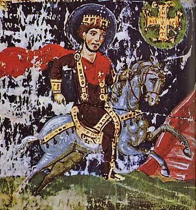 Явление на небе креста императору Константину