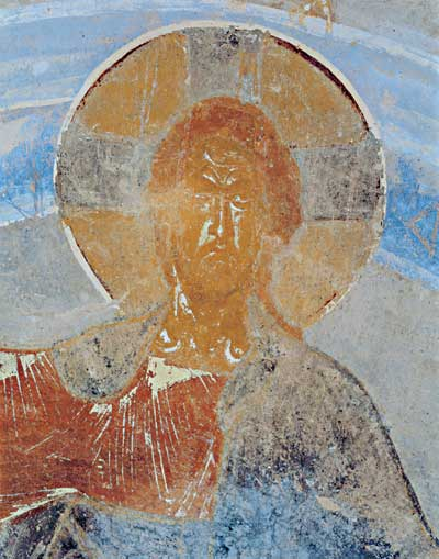 Полуфигура Христа