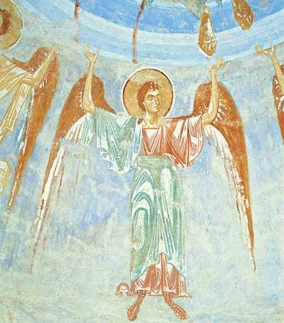 Левый восточный ангел