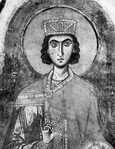 Полуфигура пророка Соломона