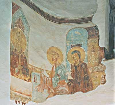 Анны. Роспись жертвенника