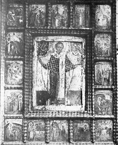 St Nicholas of Zaraisk with Scenes from His Life